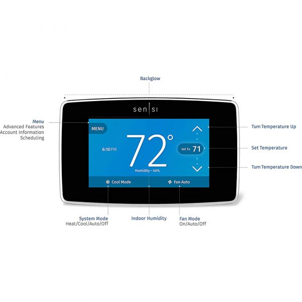 Emerson Sensi Touch WiFi Smart Thermostat