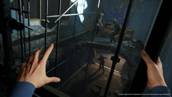Blood And Truth, VR Game