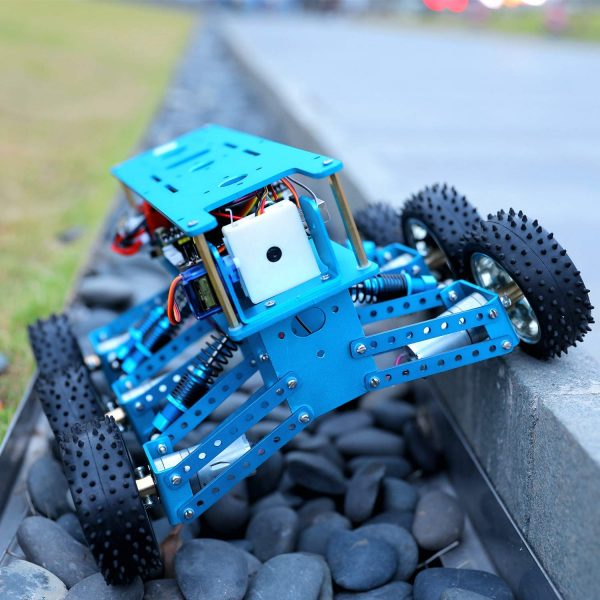 Yahboom 6WD Off-Road Robot Car Kit with Camera