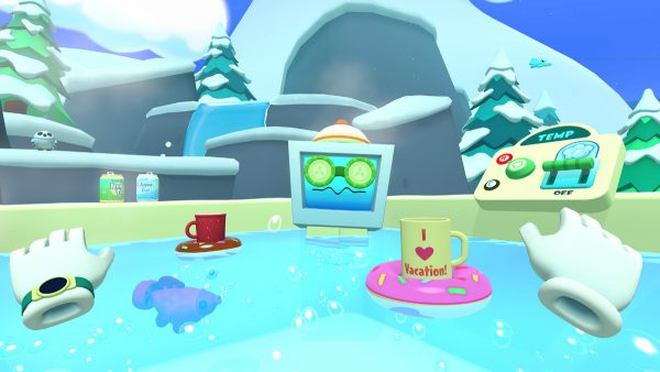 Vacation Simulator, VR Game