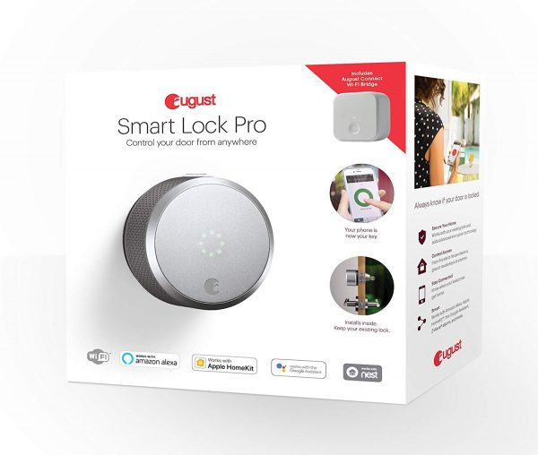 Easy installation August smart lock