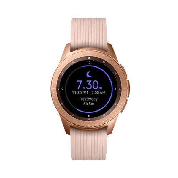 Rose gold Samsung Galaxy Smartwatch