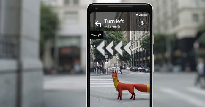 Google AR Maps Can Now Tell You Exactly Where To Go