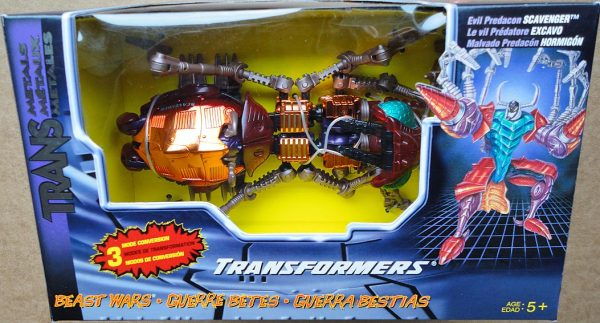 Beast Wars Transmetals Scavenger In A Sealed Package