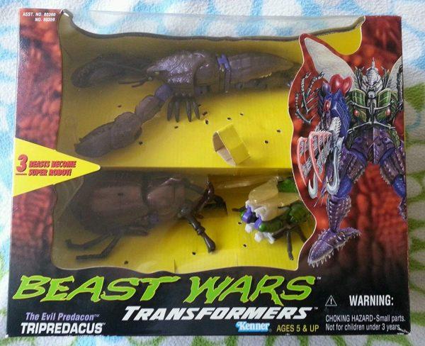 Beast Wars Predacon Combiner Tripredacus in Package