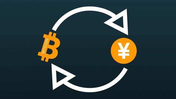 Bitcoin and Japanese Yen in a loop