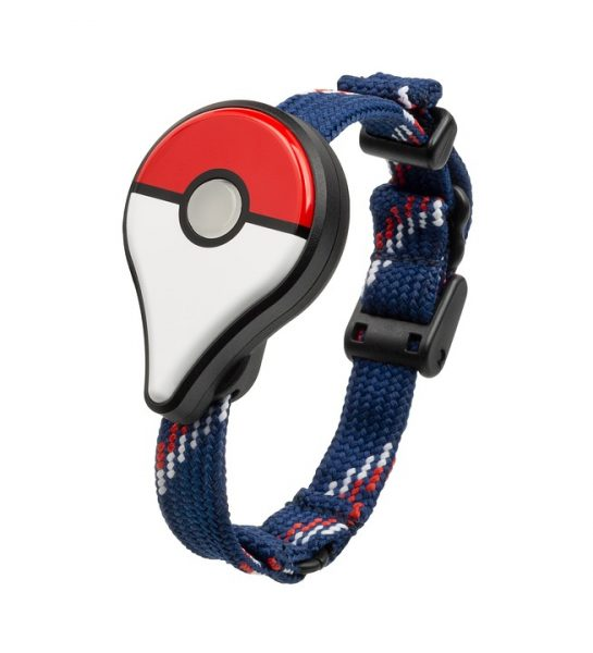 Pokemon Go Plus device out of the packaging