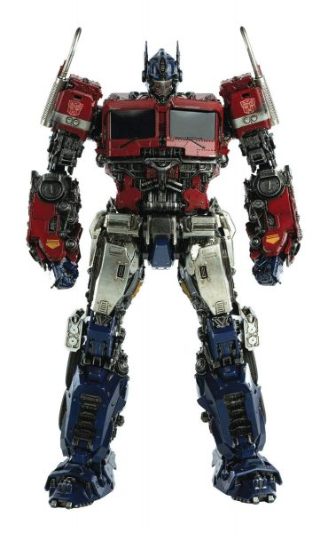 3A Deluxe Scale Optimus in museum pose.
