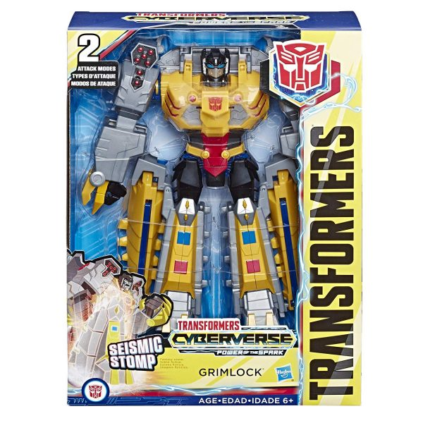 Cyberverse Ultimate Grimlock in package.