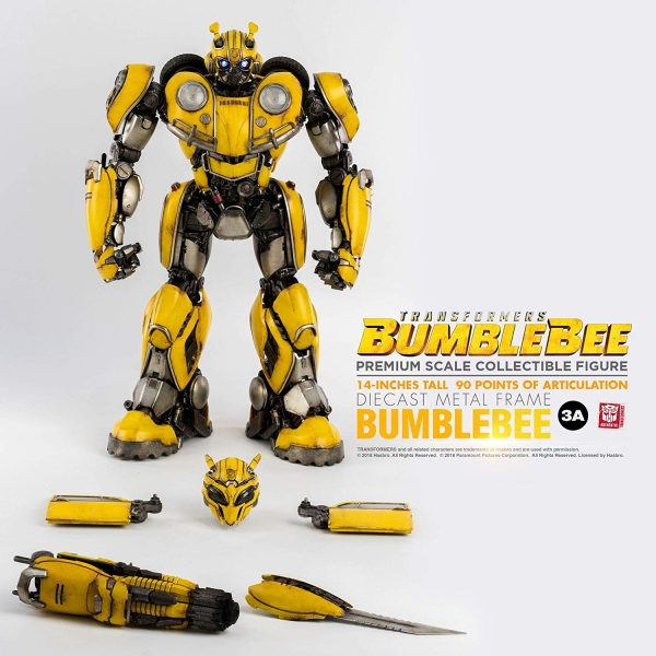 3A Premium Scale Bumblebee with all his accessories.