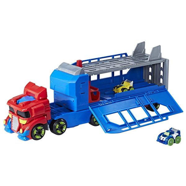 Race Track Optimus in vehicle mode.