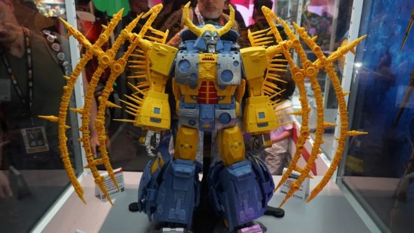 Unicron in robot mode.