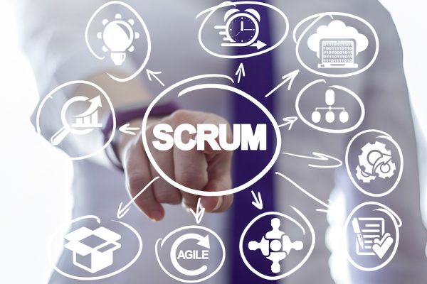 Scrum methodology as part of agile development