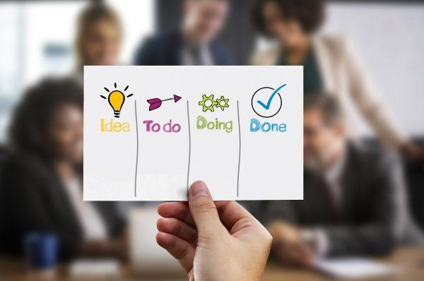 Kanban methodology in business office