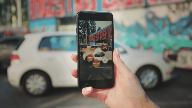 Ford Promotes Latest Mustang Car with Augmented Reality App