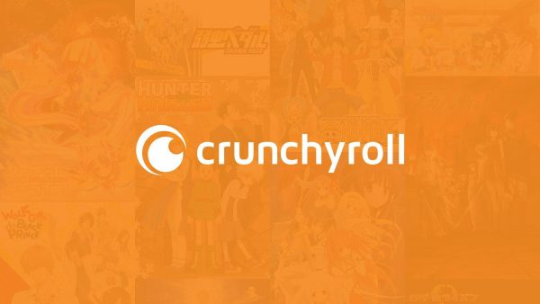 Crunchyroll's iconic orange logo