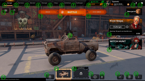 Here are the game modes in Crossout