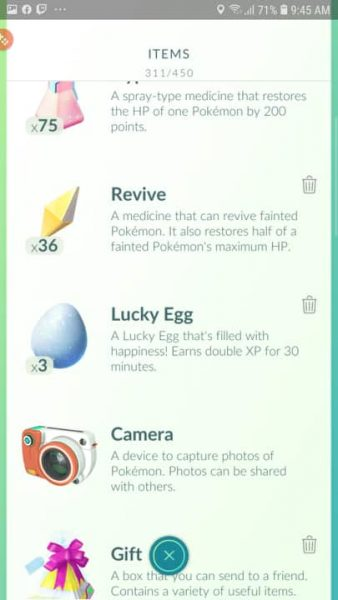 Here is how to access the Pokemon Go Lucky Egg