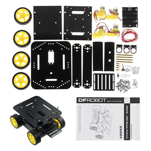 Pirate 4WD Robotics Kit