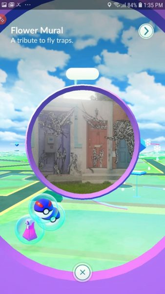 Pokestops replenish your in-game consumables