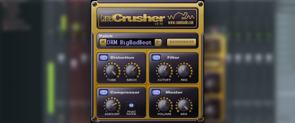 Camel Crusher is a great addition to your plugin arsenal