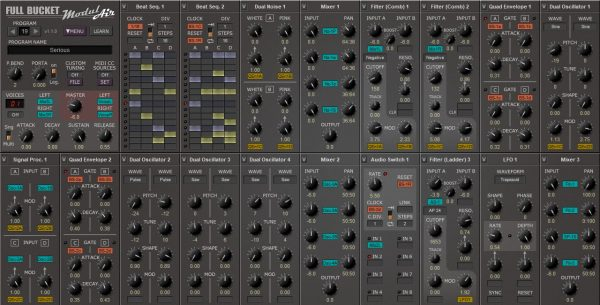ModulAir is a free VST plugin with a simple interface