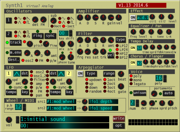 Synth1 is a free VST plugin that mimics a Nord Lead 2 synth