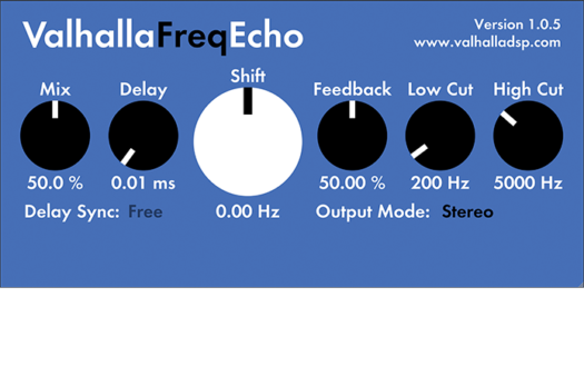 This free VST plugin has a very simple user interface
