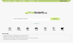 Top 40 LimeTorrents Proxy Sites (Nov 2019) (100% Working)
