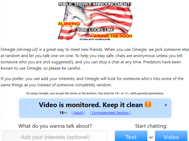 What to search on omegle
