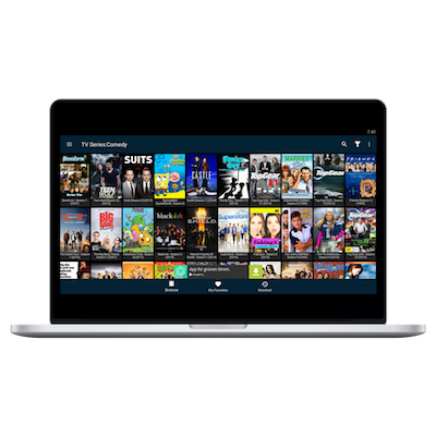 FreeFlix on Mac screen
