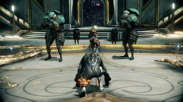 Warframe has multiple mission types and modes