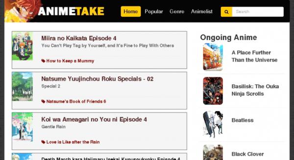 Take all the anime from animetake