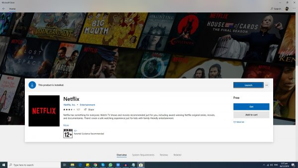 How to download movies from Netflix on Windows? Download and install the app, don't use your browser.