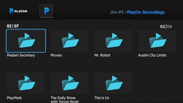 Playon helps manage your media
