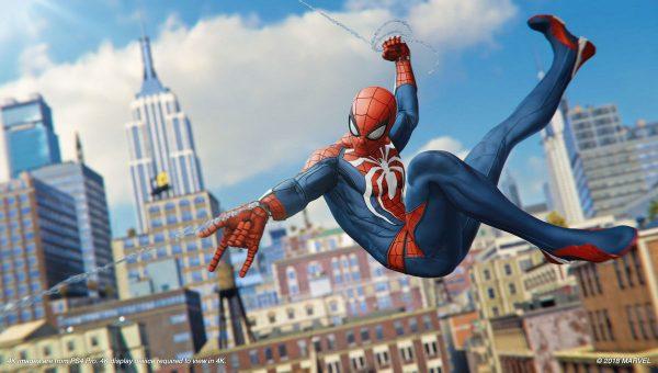 Spiderman video games werent sandbox games until 2018