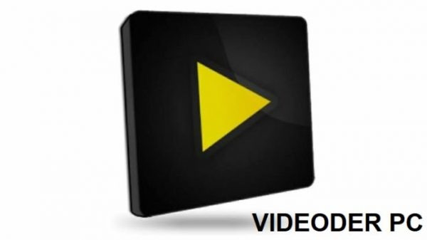 Videorder icon with white background