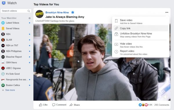 how to download a facebook video with fbdown
