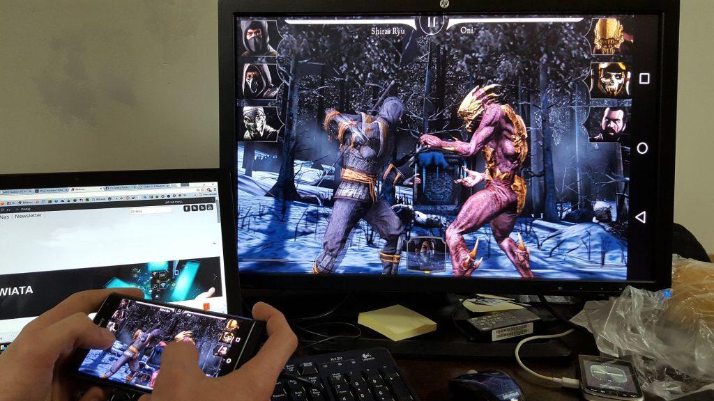 boy playing mobile game