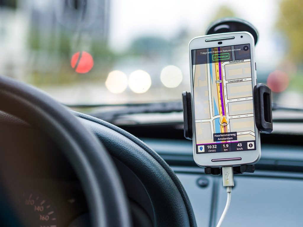 Navigation your car through transportation Programming projects