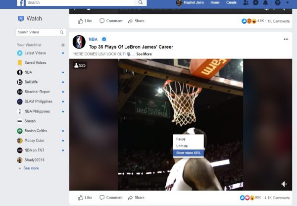 Here's how to download videos without any software: FB edition