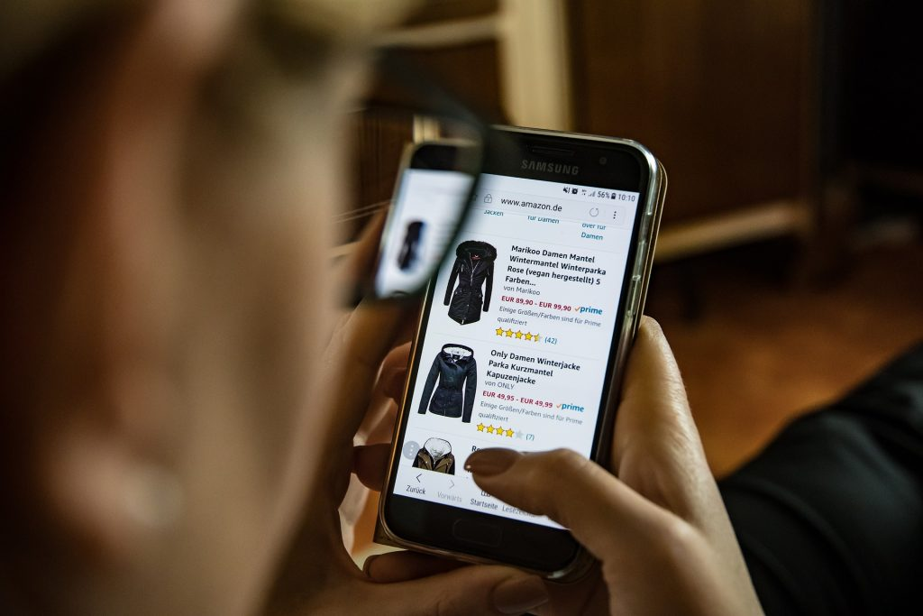 online shopping clothing
