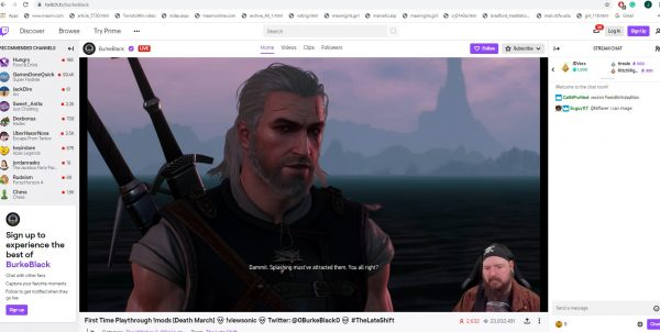 record the twitch video as it plays using desktop capture