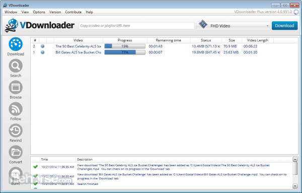 VDownloader is an award-winning software.