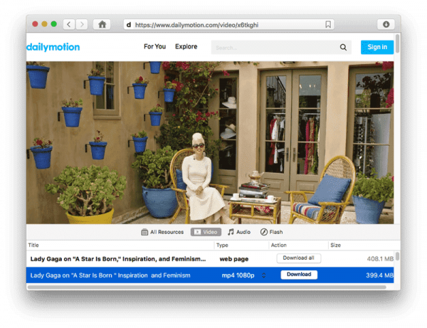 How to Download Videos from Dailymotion (Mac Version)