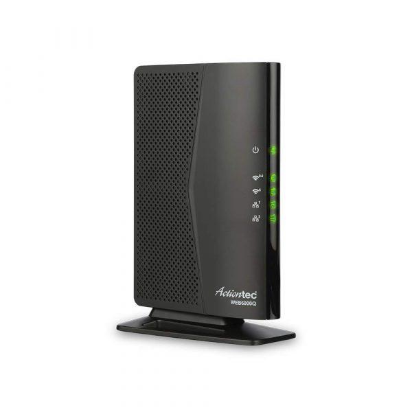 Un routeur Wifi Actiontec noir