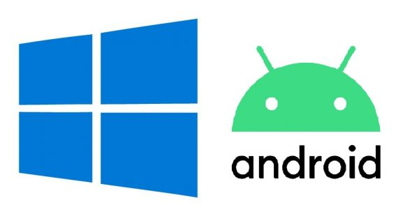 Windows and Android logo