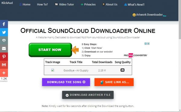 Download Soundtrack from SoundCloud on PC
