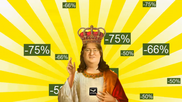 Our lord and savior Gaben blessing us all.