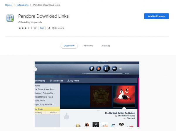 Pandora Download Links